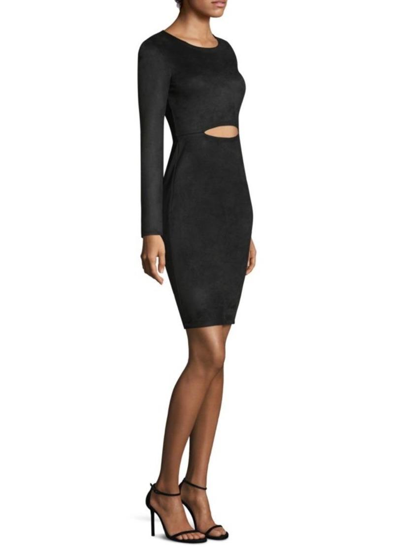BCBG Max Azria Long-Sleeve Cutout Dress