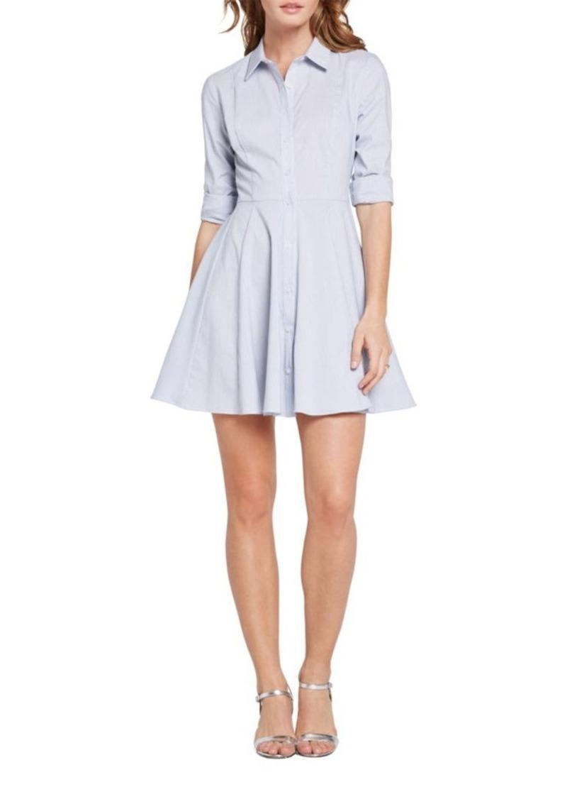 a98c635d4a07 BCBG BCBGeneration Long Sleeve Shirt Dress