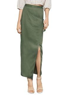 BCBG Max Azria BCBGMAXAZRIA Long Wrap Skirt