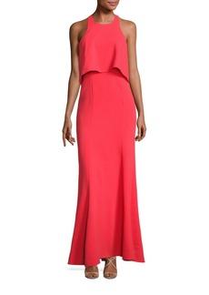 BCBGMAXAZRIA Louella Popover Gown