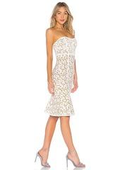 BCBG Max Azria BCBGMAXAZRIA Lynne Jacquard Strapless Dress