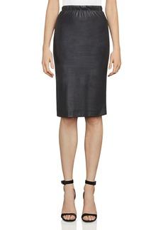 BCBGMAXAZRIA Lyric Faux-Leather Pencil Skirt