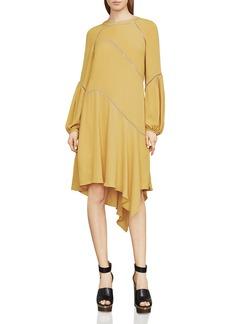 BCBGMAXAZRIA Macie Asymmetric A-Line Dress