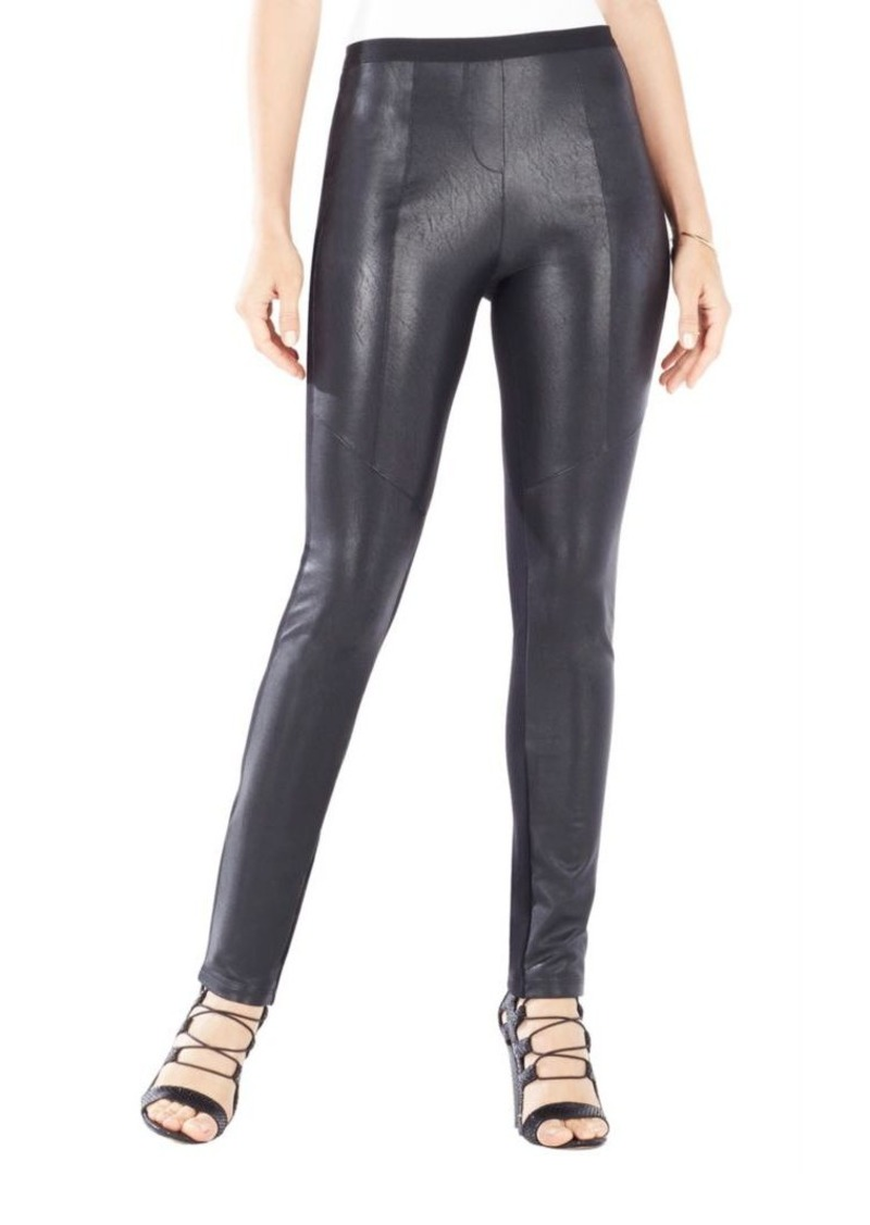 a2b319c8f3a15 BCBG Max Azria BCBGMAXAZRIA Maddex Faux Leather Leggings | Casual Pants