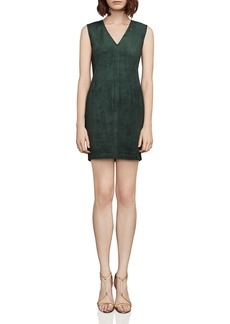 BCBG Max Azria BCBGMAXAZRIA Malina Faux-Suede Mini Dress