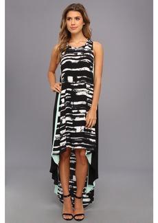 BCBGMAXAZRIA Malisa Sleeveless Color Blocked Dress