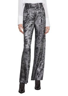 BCBG Max Azria BCBGMAXAZRIA Metallic High Waist Pants