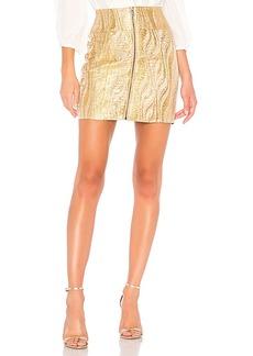 BCBG Max Azria BCBGMAXAZRIA Metallic Mini Skirt