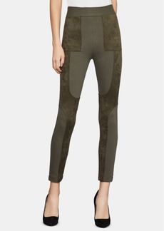 BCBG Max Azria Bcbgmaxazria Mixed-Media Leggings