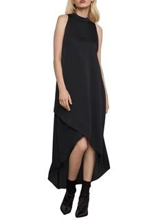 BCBG Max Azria BCBGMAXAZRIA Mockneck Trapeze High-Low Dress