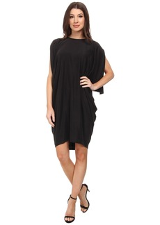 BCBGMAXAZRIA Monet Asymmetrical Draped Dress