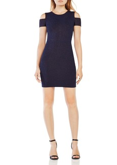 BCBGMAXAZRIA Monicka Cold-Shoulder Dress