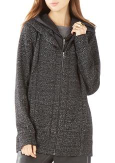 BCBGMAXAZRIA Nathyn Quilted Inset Sweatshirt