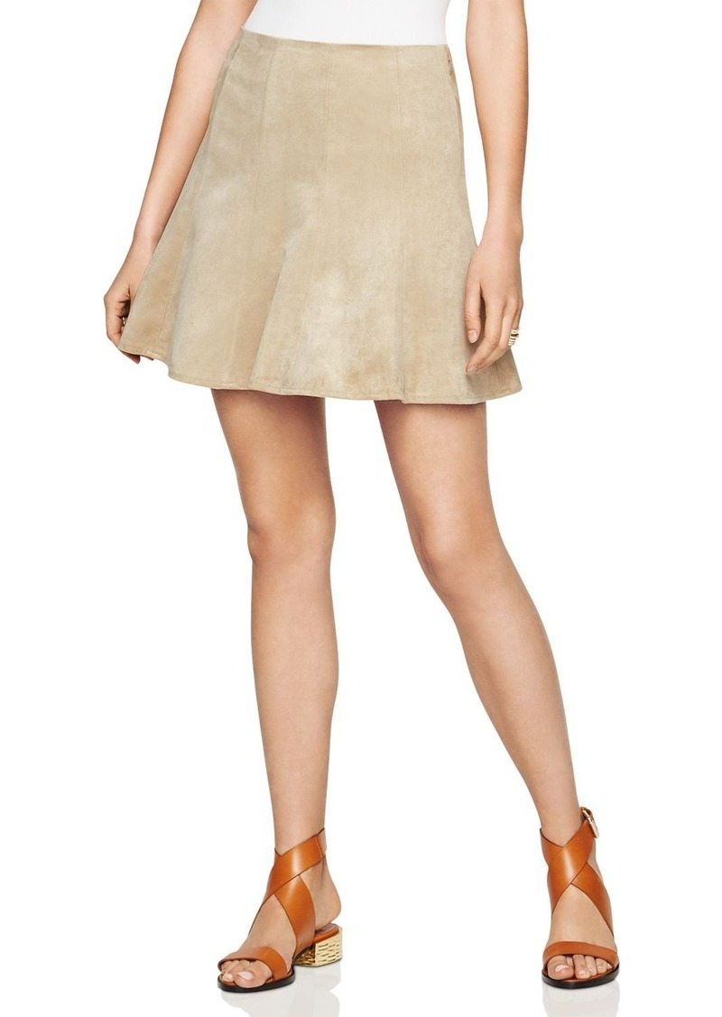 833827e5b6 BCBG Max Azria BCBGMAXAZRIA Nicky Faux Suede Mini Skirt | Skirts