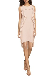 BCBGMAXAZRIA Nikole Asymmetrical Ruffle Dress
