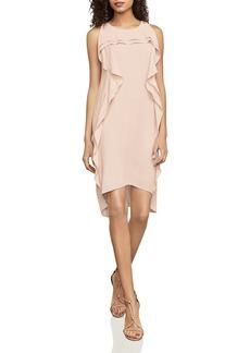 BCBGMAXAZRIA Nikole Ruffled High/Low Dress