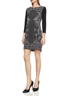 BCBGMAXAZRIA Noely Printed Jersey Tunic Dress