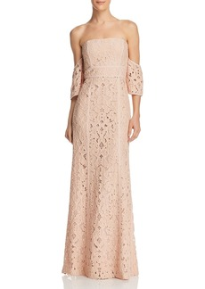 BCBG Max Azria BCBGMAXAZRIA Off-the-Shoulder Gown