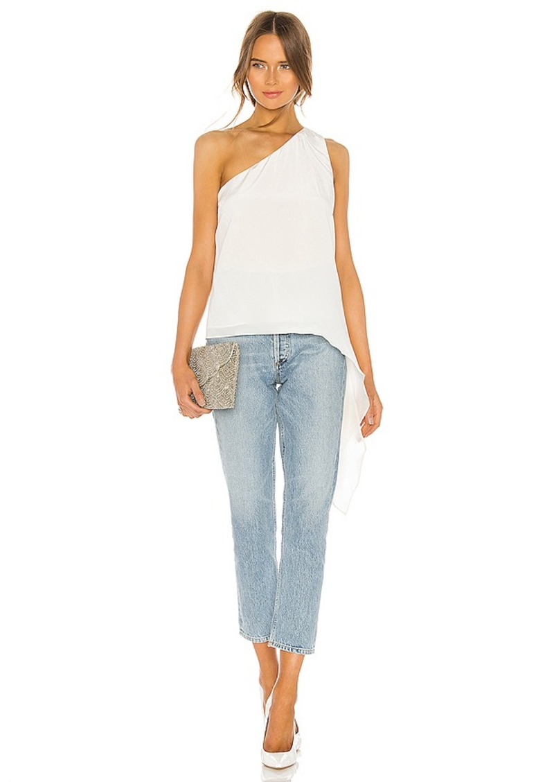 BCBG Max Azria BCBGMAXAZRIA One Shoulder Blouse