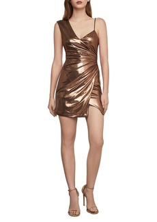 BCBG Max Azria BCBGMAXAZRIA One-Shoulder Cocktail Mini Dress