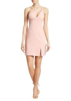 BCBG Max Azria BCBGMAXAZRIA One Shoulder Mini Sheath Dress