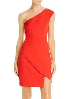 BCBG Max Azria BCBGMAXAZRIA One-Shoulder Sheath Dress