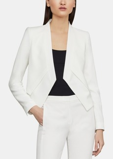 BCBG Max Azria Bcbgmaxazria Open-Front Asymmetrical Jacket