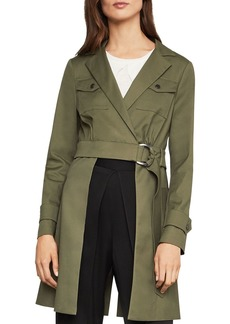 BCBG Max Azria BCBGMAXAZRIA Open-Panel Trench Jacket - 100% Exclusive