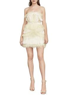BCBG Max Azria BCBGMAXAZRIA Owen Lace-Trimmed Dress