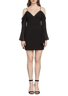 BCBGMAXAZRIA Pamela Cold-Shoulder Dress