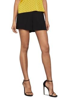 BCBG Max Azria Bcbgmaxazria Pleat-Front Shorts