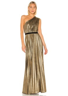 BCBG Max Azria BCBGMAXAZRIA Pleat Gown