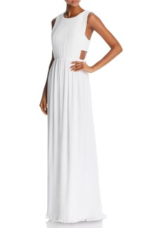 BCBG Max Azria BCBGMAXAZRIA Pleated Column Gown - 100% Exclusive