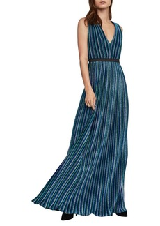 BCBG Max Azria BCBGMAXAZRIA Pleated Maxi Dress
