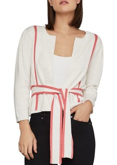 BCBG Max Azria BCBGMAXAZRIA Pleated-Shoulder Cardigan