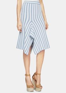 BCBG Max Azria Bcbgmaxazria Pointelle-Stripe A-Line Skirt
