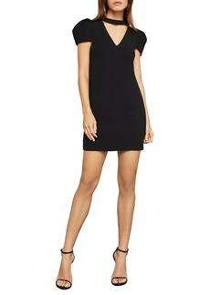 BCBG Max Azria BCBGMAXAZRIA Puffed-Sleeve Mini Shift Dress