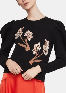 BCBG Max Azria Bcbgmaxazria Puffed-Sleeve Sweater