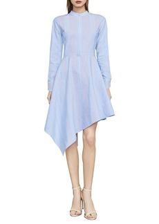 BCBG Max Azria BCBGMAXAZRIA Rayanne Asymmetrical Shirt Dress