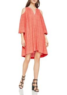 BCBGMAXAZRIA Regan Cold-Shoulder Dress
