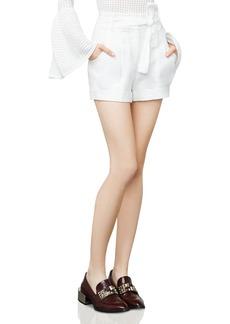 BCBG Max Azria BCBGMAXAZRIA Renee Paper Bag Shorts