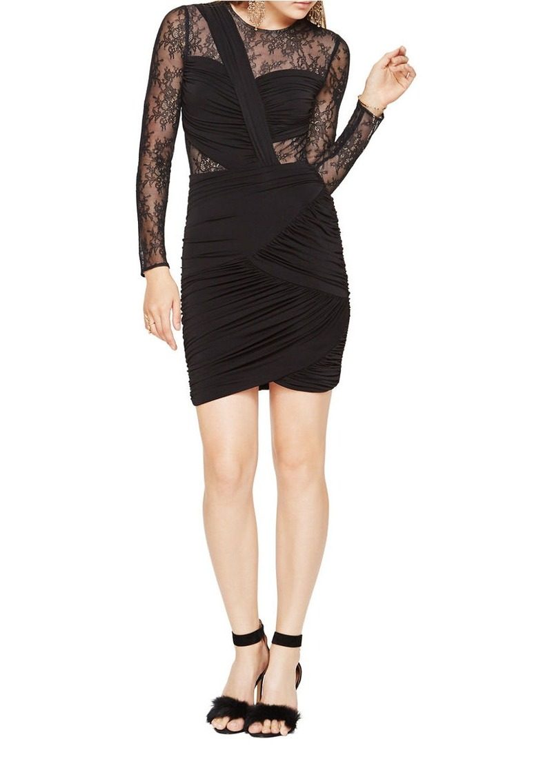 Bcbg Max Azria Bcbgmaxazria Richelle Long Sleeve Lace Dress