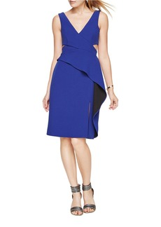 BCBG Max Azria BCBGMAXAZRIA Riya Sleeveless Peplum Dress