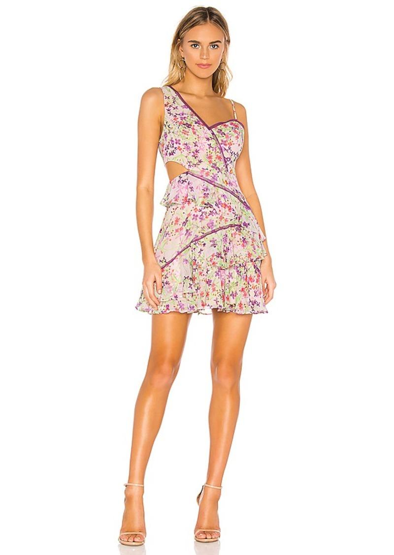 BCBG Max Azria BCBGMAXAZRIA Ruffle Cutout Dress
