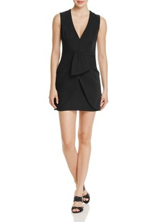 BCBGMAXAZRIA Ruffle Detail Dress