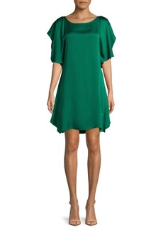 BCBG Max Azria Ruffled Cocktail Dress