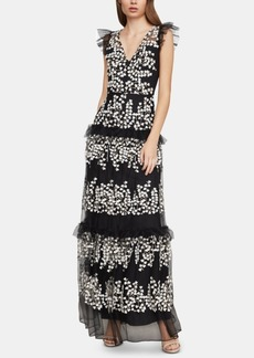 BCBG Max Azria Bcbgmaxazria Ruffled Tulle Dress