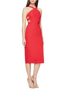 BCBGMAXAZRIA Ruth Crepe Cutout Dress