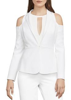 BCBGMAXAZRIA Sasha Cold-Shoulder Blazer