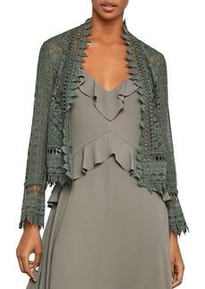 BCBG Max Azria BCBGMAXAZRIA Scalloped Lace Jacket